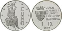 Diners 1997, Andorra, Sitzende Europa, sich selbst bekränzend, PP  25,00 EUR kostenloser Versand