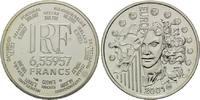 6,55957 Francs 2001, Frankreich,  PP  25,00 EUR kostenloser Versand