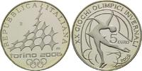 5 Euro, 2005, Italien, Olympia 2006 in Turin, PP  19,00 EUR kostenloser Versand