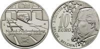 10 Euro 2002, Belgien, 50 Jahre Nord-Südverbindung, PP  25,00 EUR kostenloser Versand