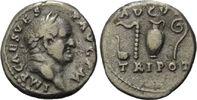 AR Denar o.J., Römisches Reich, Vespasian, ss