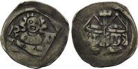 Hälbling o.J., Regensburg, Albert (I.) zu Straubing, 1353-1404, ss+  50,00 EUR kostenloser Versand