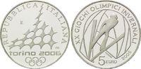 5 Euro 2005, Italien, Olympiade Turin 2006 - Skispringen, PP  28,00 EUR kostenloser Versand