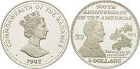 5 Dollars 1992, Bahamas, Henry Ford, 1913 Fließbandfertigung von Automo... 26,00 EUR kostenloser Versand