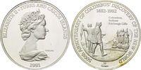 20 Crowns 1991, Turks und Caicos Inseln, 500 Jahre Entdeckung Amerikas,... 29,00 EUR kostenloser Versand
