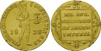 Dukat 1829, Niederlande, Willem I., 1815-1840, kl.Randfehler, ss+  295,00 EUR kostenloser Versand