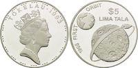 5 Dollars 1993, Tokelau, Raumfahrt - Erste Mondumrundung 1968, 'First O... 26,00 EUR kostenloser Versand