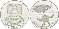 20 Dollars 1993, Kiribati, Raumfahrt - Erster Ausflug im All 1965, Astr... 29,00 EUR kostenloser Versand