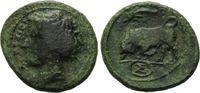 AE 15 317-310v.Chr., Italien, Sizilien / Stadt Syrakus, f.ss/ss  64,00 EUR kostenloser Versand