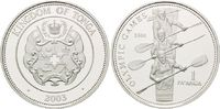 1 Pa´anga 2003, Tonga, Olympiade Athen 2004 - Vierer Ruderer, PP  26,00 EUR kostenloser Versand