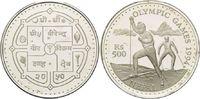 500 Rupien 1994, Nepal, Olympiade Lillehammer 1994 - Skilangläufer, l.b... 26,00 EUR kostenloser Versand