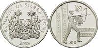 10 Dollars 2003, Sierra Leone, Olympische Spiele Athen 2004 - Antiker B... 29,00 EUR kostenloser Versand