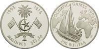 250 Rupien 1993, Malediven, Olympische Spiele Atlanta 1996 - Segelboot ... 26,00 EUR kostenloser Versand