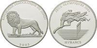 10 Francs 2003, Kongo Demokratische Republik, Olympische Spiele Athen 2... 26,00 EUR kostenloser Versand