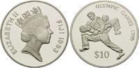10 Dollars 1993, Fidschi Inseln, Olympische Spiele Atlanta 1996 - Judok... 26,00 EUR kostenloser Versand