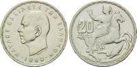 20 Drachmen 1960, Griechenland, Paul I, Selene die Mondgöttin auf einem... 6,90 EUR  zzgl. 6,40 EUR Versand