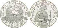 100 Schilling 1992, Österreich, 1000 Jahre Ostarrîchi, Kaiser Maximilia... 29,00 EUR kostenloser Versand