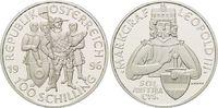 100 Schilling 1996, Österreich, 1000 Jahre Ostarrîchi, Markgraf Leopold... 29,00 EUR kostenloser Versand