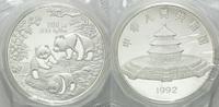 100 Yuan 1992, China, Panda, Orig.-Etui und -Zertifikat, PP  1189,00 EUR kostenloser Versand