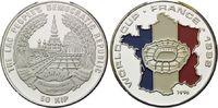 50 Kip 1996, Laos, Fußball WM 98 Frankreich, Farbmünze, Stadion vor Fra... 19,00 EUR kostenloser Versand