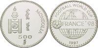 500 Tögrög 1997, Mongolei, Fußball WM 98 Frankreich, Schriftzug vor Glo... 26,00 EUR kostenloser Versand