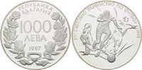 1000 Leva 1997, Bulgarien, Fußball WM 98 Frankreich, Dreikampf, PP  26,00 EUR kostenloser Versand