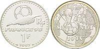 1 Franc 1997, Frankreich, Fußball WM 98 Frankreich - Weltpokal vor Fußb... 12,00 EUR kostenloser Versand