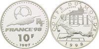 10 Francs 1997, Frankreich, Fußball WM 98 Frankreich- Deutschland Fußba... 16,00 EUR kostenloser Versand