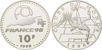 10 Francs 1998, Frankreich, Fußball WM 98 Frankreich - Brasilien Fußbal... 16,00 EUR kostenloser Versand