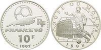 10 Francs 1997, Frankreich, Fußball WM 98 Frankreich - Italien Fußball ... 16,00 EUR kostenloser Versand