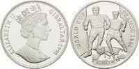 1 Crown 1998, Gibraltar, Fußball Weltmeisterschaft 98 Frankreich - Zwei... 26,00 EUR kostenloser Versand