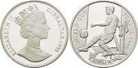 1 Crown 1998, Gibraltar, Fußball Weltmeisterschaft 98 Frankreich - Spie... 26,00 EUR kostenloser Versand