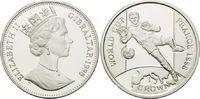 1 Crown 1998, Gibraltar, Fußball Weltmeisterschaft 98 Frankreich - Torw... 26,00 EUR kostenloser Versand