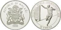 20 Kwacha 1998, Malawi, Fußball Weltmeisterschaft 98 Frankreich - Jubel... 29,00 EUR kostenloser Versand
