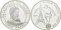 1000 Francs 1999, Tschad, Fußball Weltmeisterschaft 98 Frankreich - Sti... 21,00 EUR kostenloser Versand