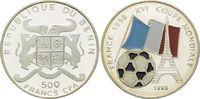 500 Francs CFA 1995, Benin Fußball Weltmeisterschaft 98 Frankreich, Far... 16,00 EUR kostenloser Versand