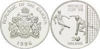 20 Dalasis 1996, Gambia, Fußball Weltmeisterschaft 98 Frankreich - Tors... 26,00 EUR kostenloser Versand