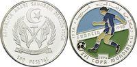500 Pesetas 1996, West Sahara, Fußball Weltmeisterschaft 98 Frankreich,... 26,00 EUR kostenloser Versand