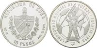 10 Pesos 1996, Kuba, Fußball Weltmeisterschaft 98 Frankreich - Jeanne d... 21,00 EUR kostenloser Versand