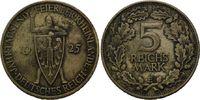 5 Reichsmark 1925 E, Weimarer Republik,  winz.Rf., ss  80,00 EUR kostenloser Versand