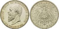 3 Mark, 1911 A, Schaumburg-Lippe, Auf den Tod des Fürsten Georg, winz.R... 235,00 EUR kostenloser Versand