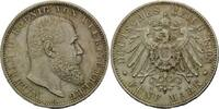 5 Mark 1908, Württemberg,  winz.Rf., min.ber., vz-st  195,00 EUR kostenloser Versand