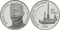 10 Euro 2003, Finnland, Mannerheim und St. Petersburg, PP  22,00 EUR kostenloser Versand