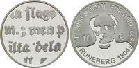 10 Euro 2004, Finnland, Schriftsteller J. L. Runeberg, PP  18,00 EUR kostenloser Versand