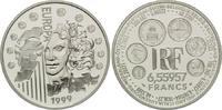 6,55957 Francs / 1 Euro 1999, Frankreich,  PP  28,00 EUR kostenloser Versand
