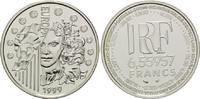 6,55957 Francs / 1 Euro 1999, Frankreich,  PP  22,00 EUR kostenloser Versand