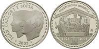 10 Euro 2003, Spanien, 25 Jahre Neue Verfassung, PP  35,00 EUR kostenloser Versand