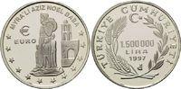 1500000 Lira 1997, Türkei, Heiliger Nikolaus von Myra, PP  22,00 EUR kostenloser Versand