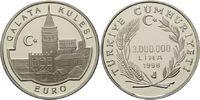 3000000 Lira 1998, Türkei, Bastionsturm Galata Kulesi PP  20,00 EUR kostenloser Versand