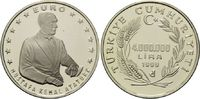 4000000 Lira 1999, Türkei, Atatürk, PP  45,00 EUR kostenloser Versand